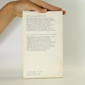 antikvární kniha Svět je krásné místo , 1974