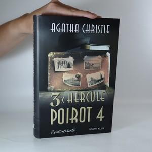 antikvární kniha 3x Hercule Poirot 4, 2018