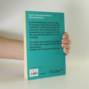 antikvární kniha Fischer Wirtschaftslexikon, 2002
