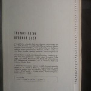 antikvární kniha Neblahý Juda, 1963
