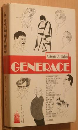 náhled knihy - Generace