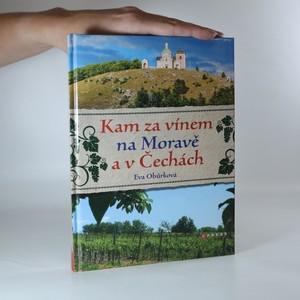 náhled knihy - Kam za vínem na Moravě a v Čechách