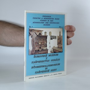 náhled knihy - Šumavské muzeum v Kašperských horách