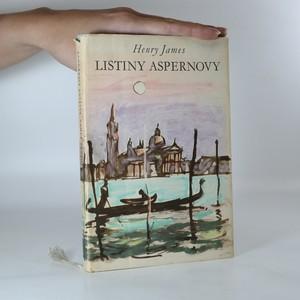 náhled knihy - Listiny Aspernovy