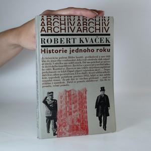 náhled knihy - Historie jednoho roku