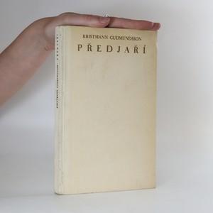 náhled knihy - Předjaří