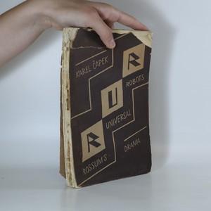 náhled knihy - R. U. R. Rossum´s Universal Robots (1. vydání)