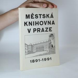 náhled knihy - Městská knihovna v Praze 1891 - 1991