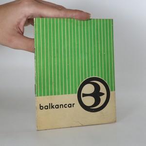 náhled knihy - Balkancar. Olověné akumulátorové baterie. (kniha nemá tiráž)