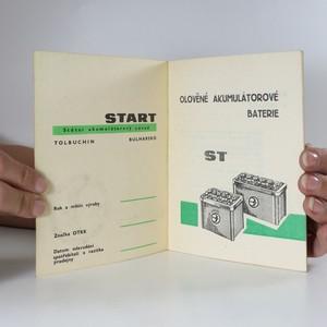 antikvární kniha Balkancar. Olověné akumulátorové baterie. (kniha nemá tiráž), neuveden