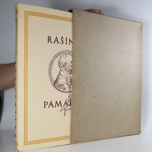 náhled knihy - Rašínův památník
