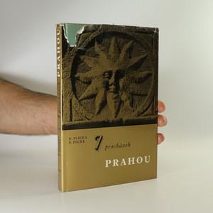 náhled knihy - 7 procházek Prahou. Fotografický průvodce městem (věnování autora?)