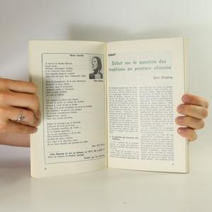 antikvární kniha Littérature Chinoise, 1987
