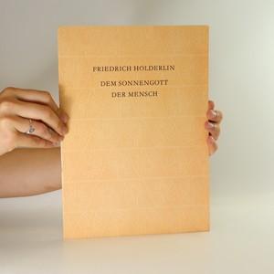 náhled knihy - Dem Sonnengott der Mensch