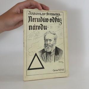 náhled knihy - Nerudův odkaz národu (s podpisem autora)