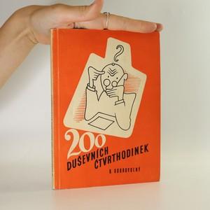 náhled knihy - 200 duševních čtvrthodinek