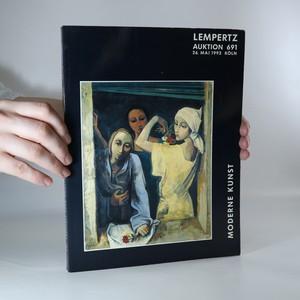náhled knihy - Moderne Kunst. Lempertz Auktion 691. 26. Mai 1993 Köln