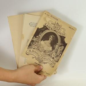 antikvární kniha Láska a život slavných mužů a žen. (sešity 69-85), 1927, 1928