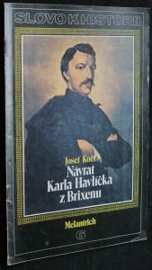 náhled knihy - Slovo k historii č. 6 - Návrat Karla Havlíčka z Brixenu