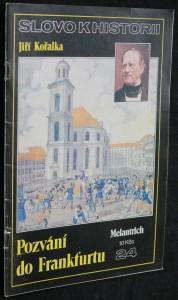 náhled knihy - Slovo k historii č. 24 - Pozvání do Frankfurtu