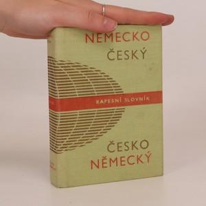 náhled knihy - Německo-český. Česko-německý kapesní slovník