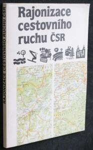 náhled knihy - Rajonizace cestovního ruchu ČSR