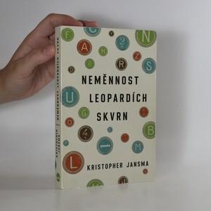 náhled knihy - Neměnnost leopardích skvrn