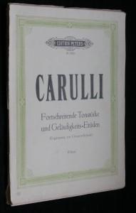 náhled knihy - Carulli, fortschreitende tonstucke und gelaufigkeits= etuden