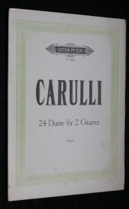 náhled knihy - Carulli, 24 duette fur 2 gitarren