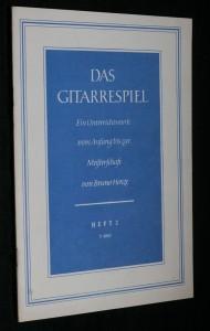 náhled knihy - Das gitarrespiel