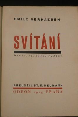 antikvární kniha Svítání : drama, 1925