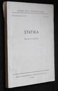 náhled knihy - Statika : Určeno pro posl. fak. strojní