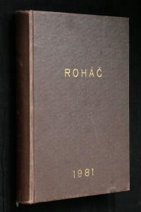 náhled knihy - Roháč, r. 1981