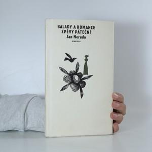 náhled knihy - Balady a romance. Zpěvy páteční