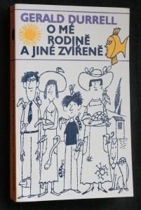 náhled knihy -  O mé rodině a jiné zvířeně