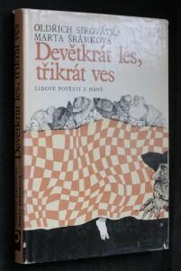 náhled knihy - Devětkrát les, třikrát ves : Lidové pověsti z Hané