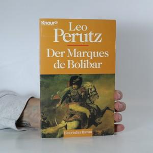 náhled knihy - Der Marques de Bolibar