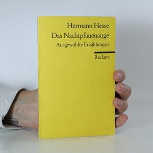 náhled knihy - Das Nachtpfauenauge. Ausgewählte Erzählungen
