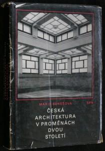 náhled knihy - Česká architektura v proměnách dvou století