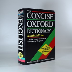 náhled knihy - The concise Oxford dictionary of current English