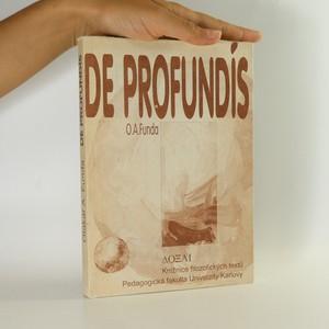 náhled knihy - De profundís