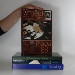 náhled knihy - Katalog Praga 1978. Katalog Praga 1988. Československá filatelie. Umění na známkách (4 svazky)