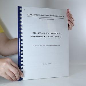 náhled knihy - Struktura a vlastnosti anorganických materiálů