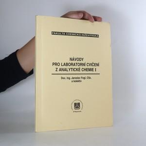 náhled knihy - Návody pro laboratorní cvičení z analytické chemie I