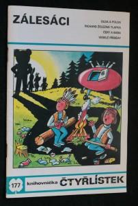 náhled knihy - Zálesáci : [Obrázkové příběhy pro děti]