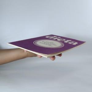 antikvární kniha Dieta při žaludečním kataru a zvýšené kyselosti žaludeční štávy, 1982