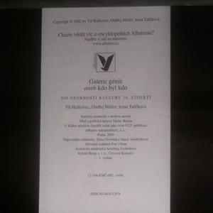 antikvární kniha Galerie géniů, aneb, Kdo byl kdo. 200 osobností kultury 20. století, 2003