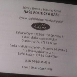 antikvární kniha Naše politická kaše, 2006