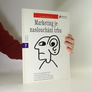 náhled knihy - Marketing je naslouchání trhu