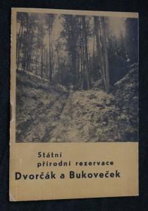 náhled knihy - Státní přírodní rezervace Dvorčák a Bukoveček